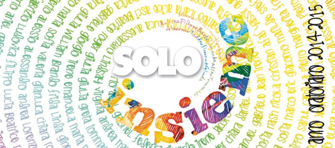 «Solo insieme» – Il logo e lo slogan