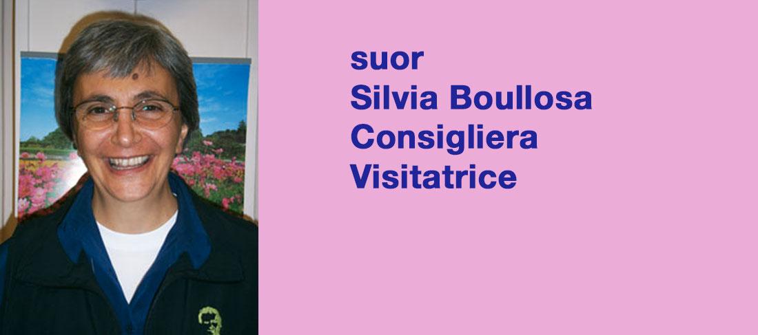 suor Silvia Boullosa Consigliera Visitatrice