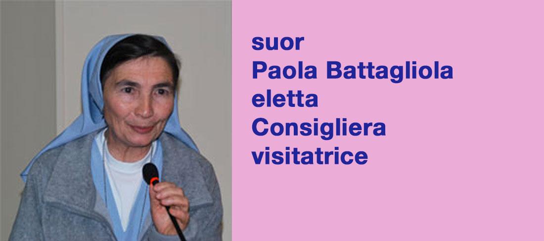 suor Paola Battagliola Consigliera visitatrice