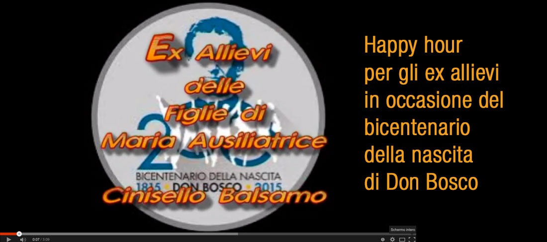 Happy hour per gli ex allievi