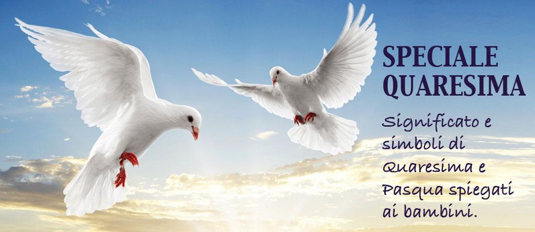 Quaresima e simboli della Pasqua