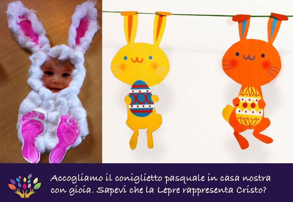 Lavoretti di pasqua per bambini - Lettere stampabili del coniglietto di pasqua ...