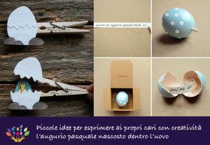 lavoretti Pasqua uovo
