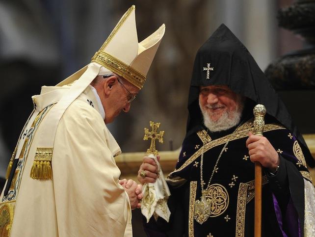 papa-francesco-Karekin-II-ansa