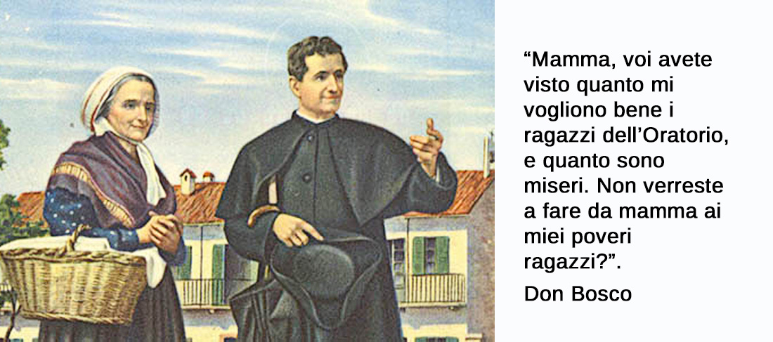 Mamma Margherita: la mamma di Don Bosco