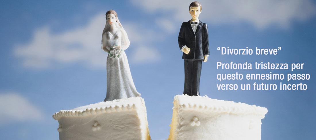 """La testimonianza di Giorgio sul """"divorzio breve"""""""