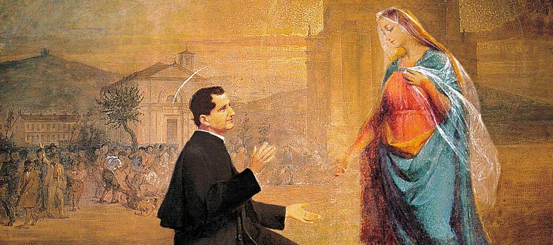 Don Bosco e la Madonna: da pastorella a Regina