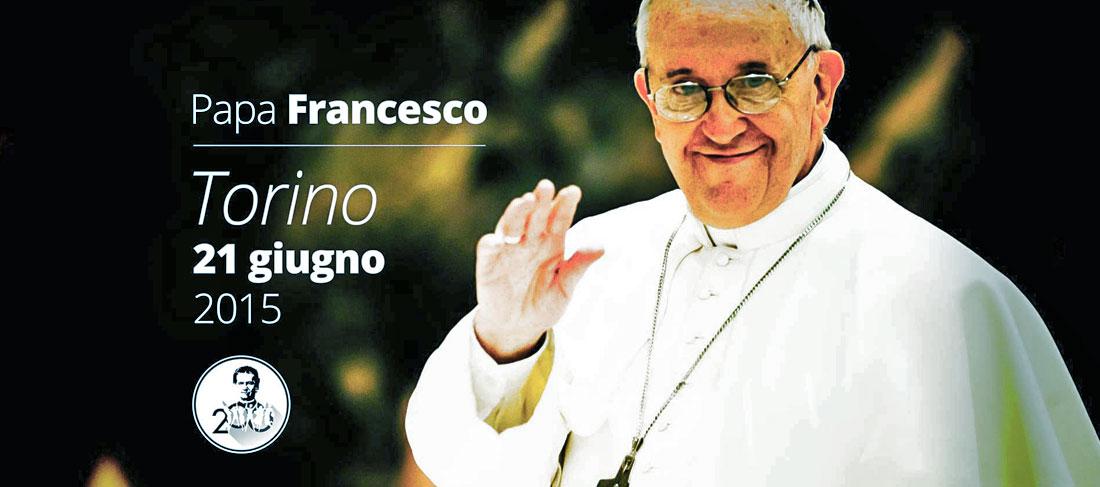 Il Papa con i Salesiani a Torino
