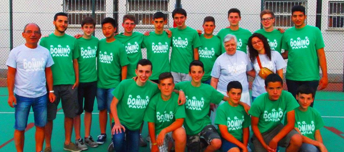 P.G.S. DOMINO Pavia: appuntamento per il basket
