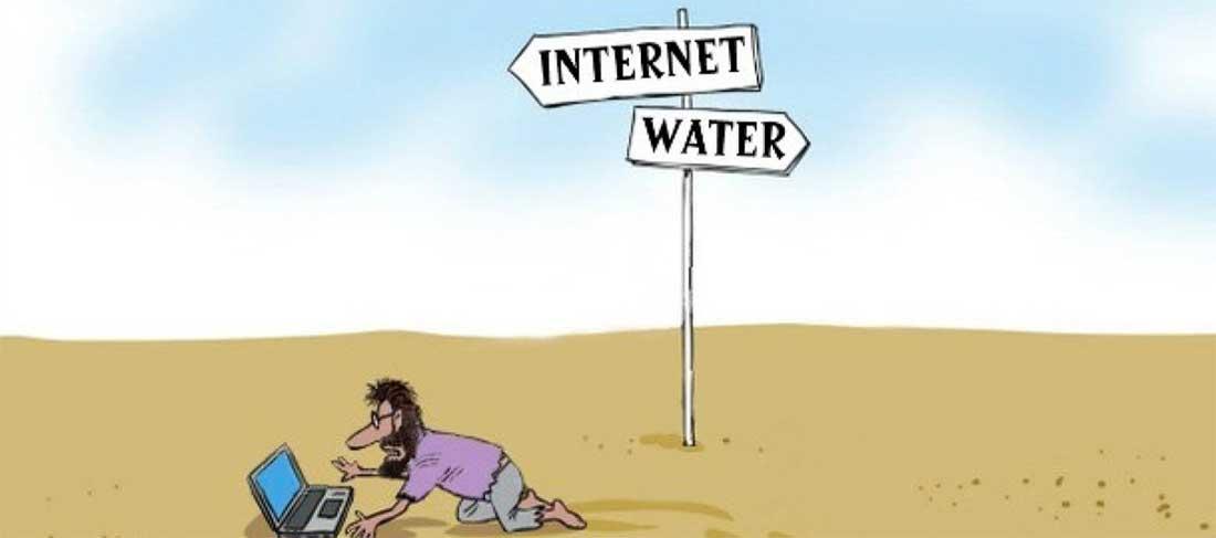 Non vivo più senza web, anche se, anche se…