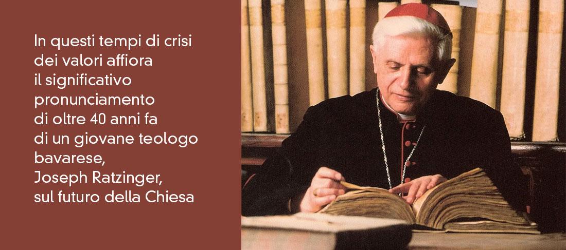 """Joseph Ratzinger 1970: """"Ma durerà fino alla fine"""""""
