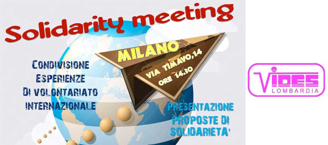 Solidarity meeting