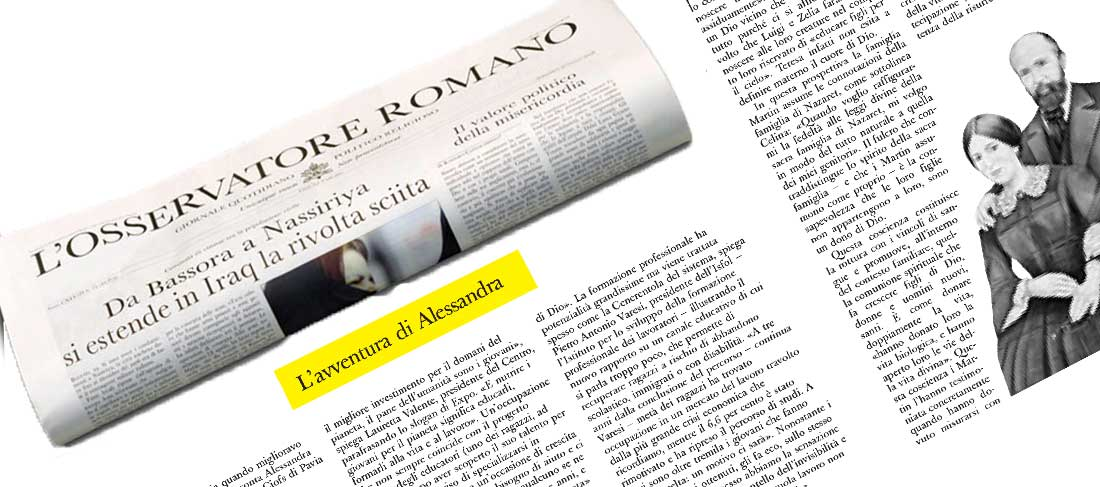 L'avventura di Alessandra