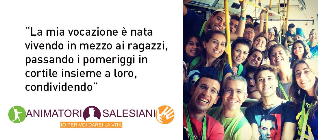 """Da Animatore Salesiano a """"Salesiano"""""""