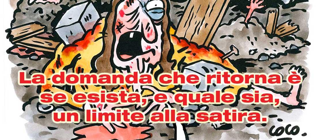 Charlie Hebdo, la parabola della spazzatura