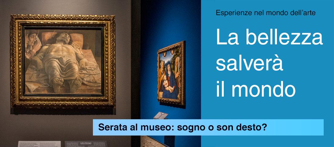 Serata al museo