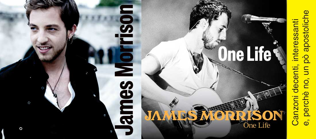 """One life"" – James Morrison"