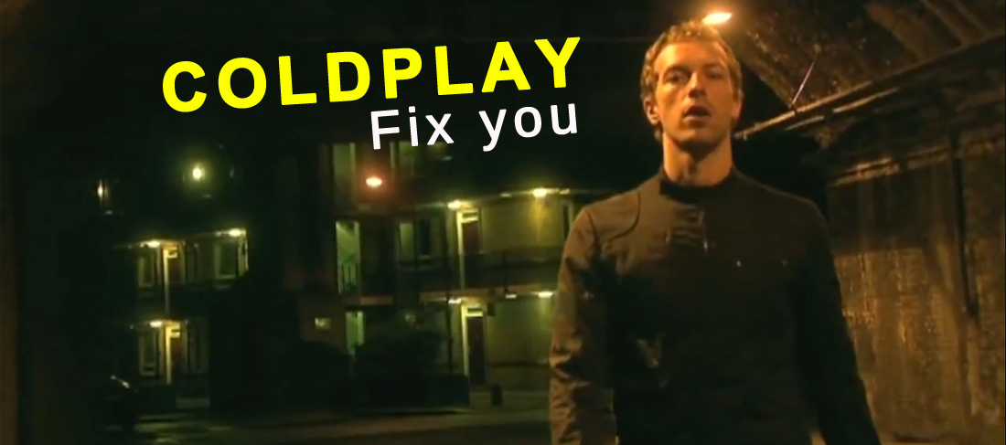 """Fix you"" 