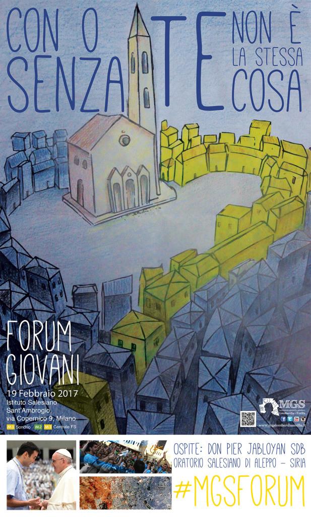 Manifesto Forum Giovani 2017