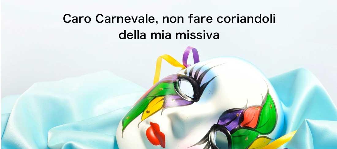 Lettera al Carnevale