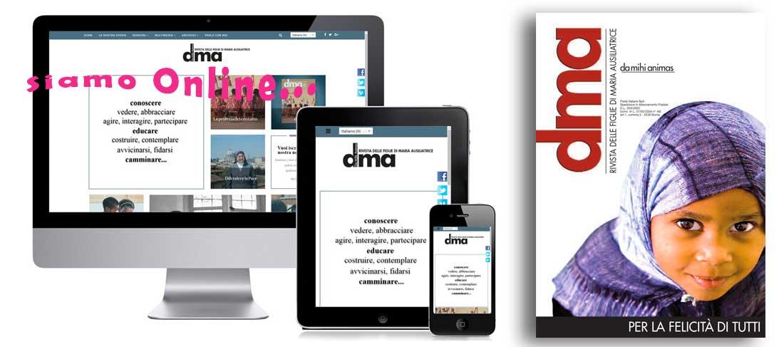 Online la Rivista DMA