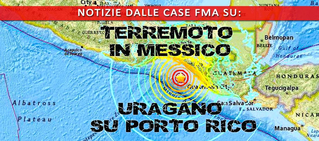 Notizie dalle case FMA di Messico e Porto Rico