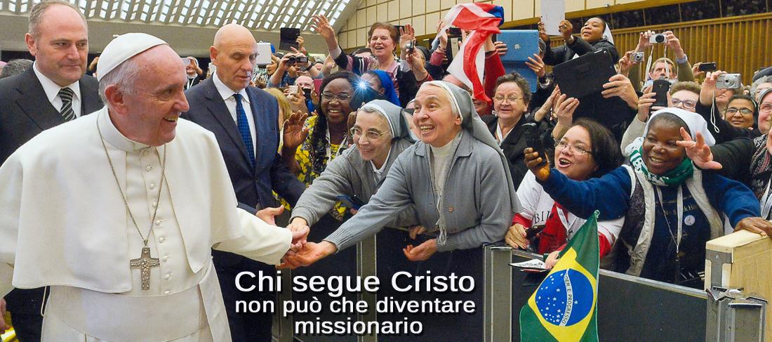 Per Papa Francesco, missione e vita consacrata sono legate