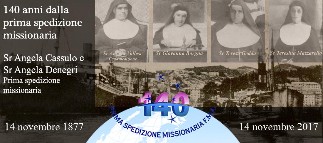 140 anni dalla prima spedizione missionaria
