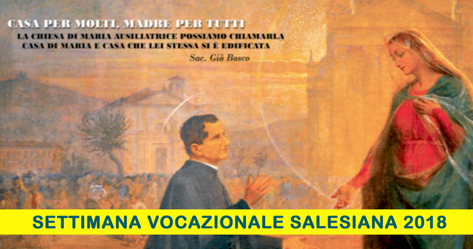 Settimana Vocazionale Salesiana 2018