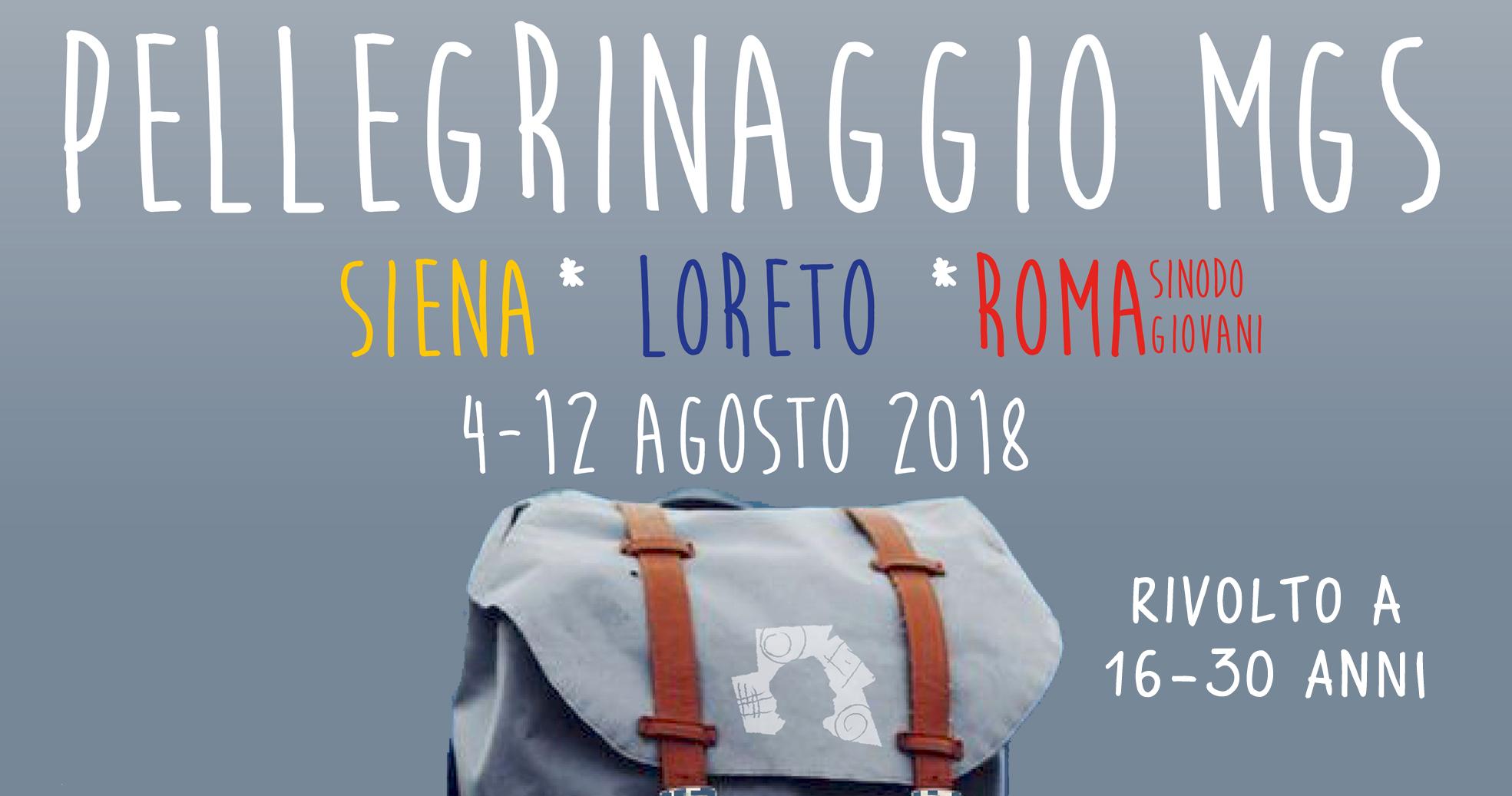 Pellegrinaggio estivo MGS
