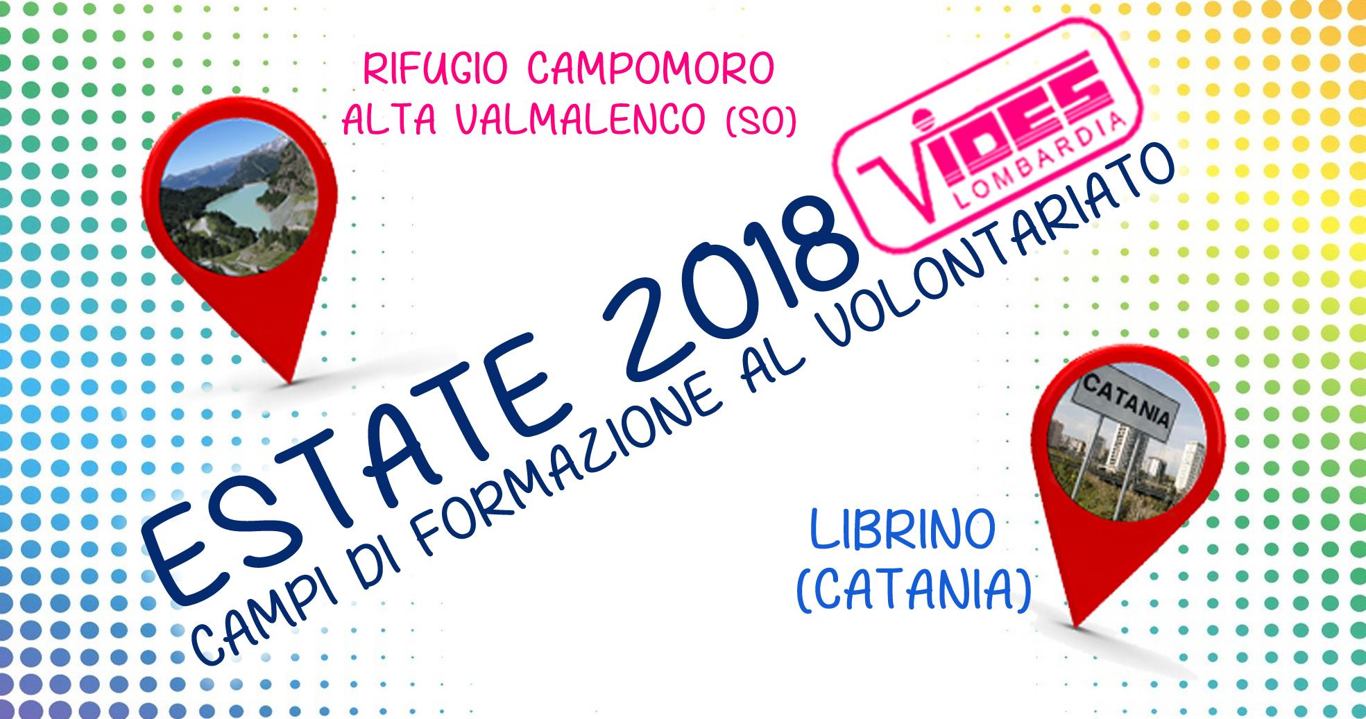 VIDES Lombardia – Campi estivi 2018