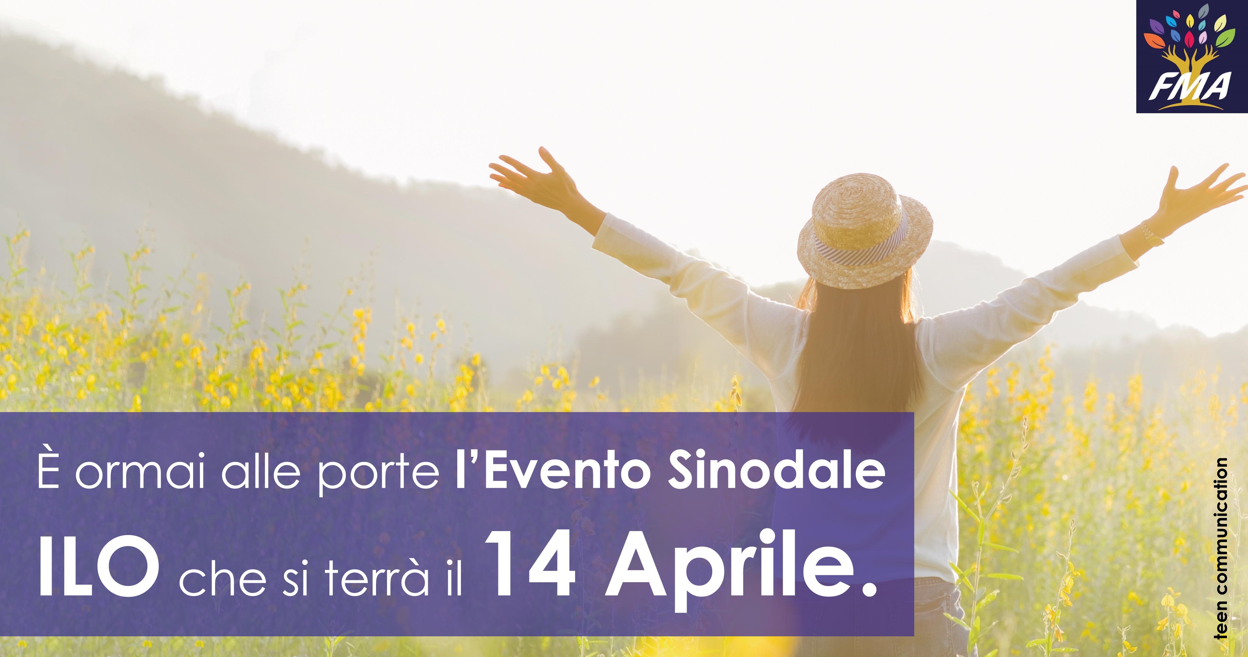 Evento Sinodale ILO – 14  Aprile