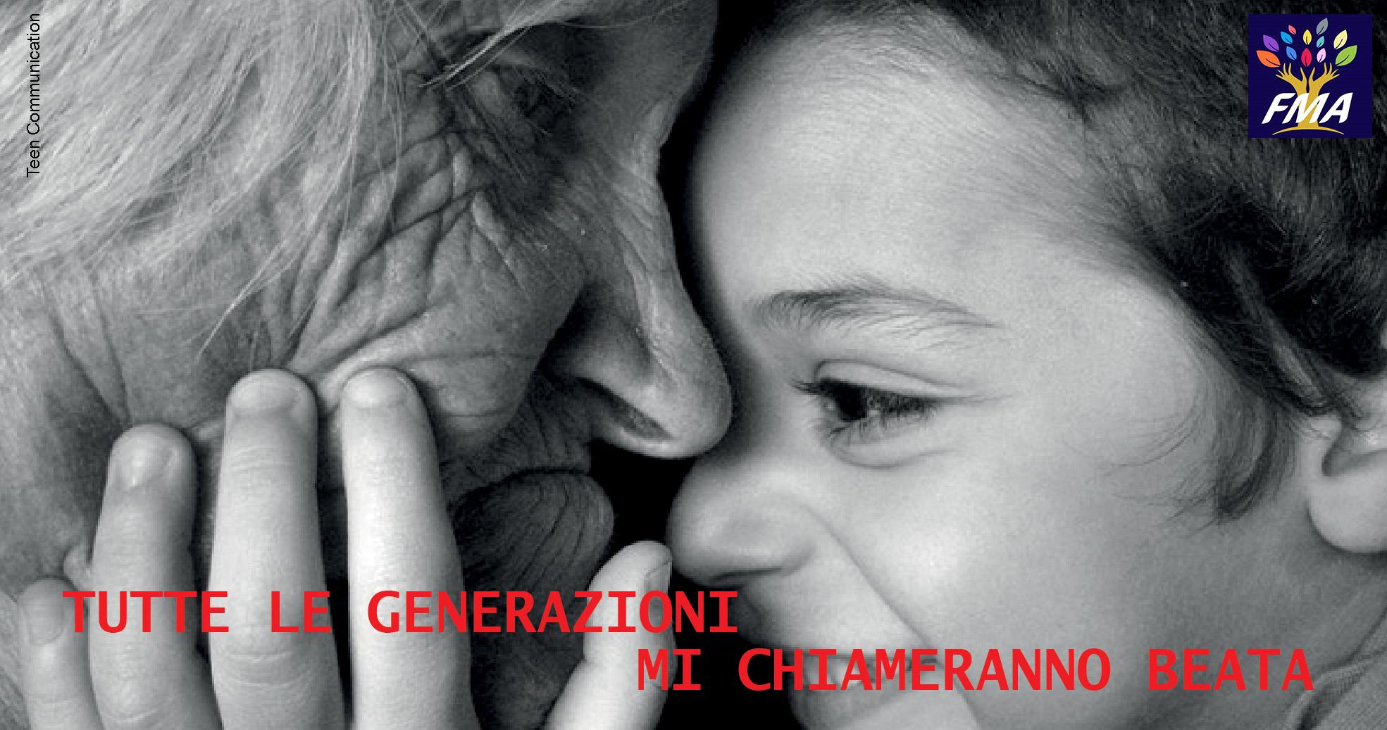 Tutte le generazioni mi chiameranno beata