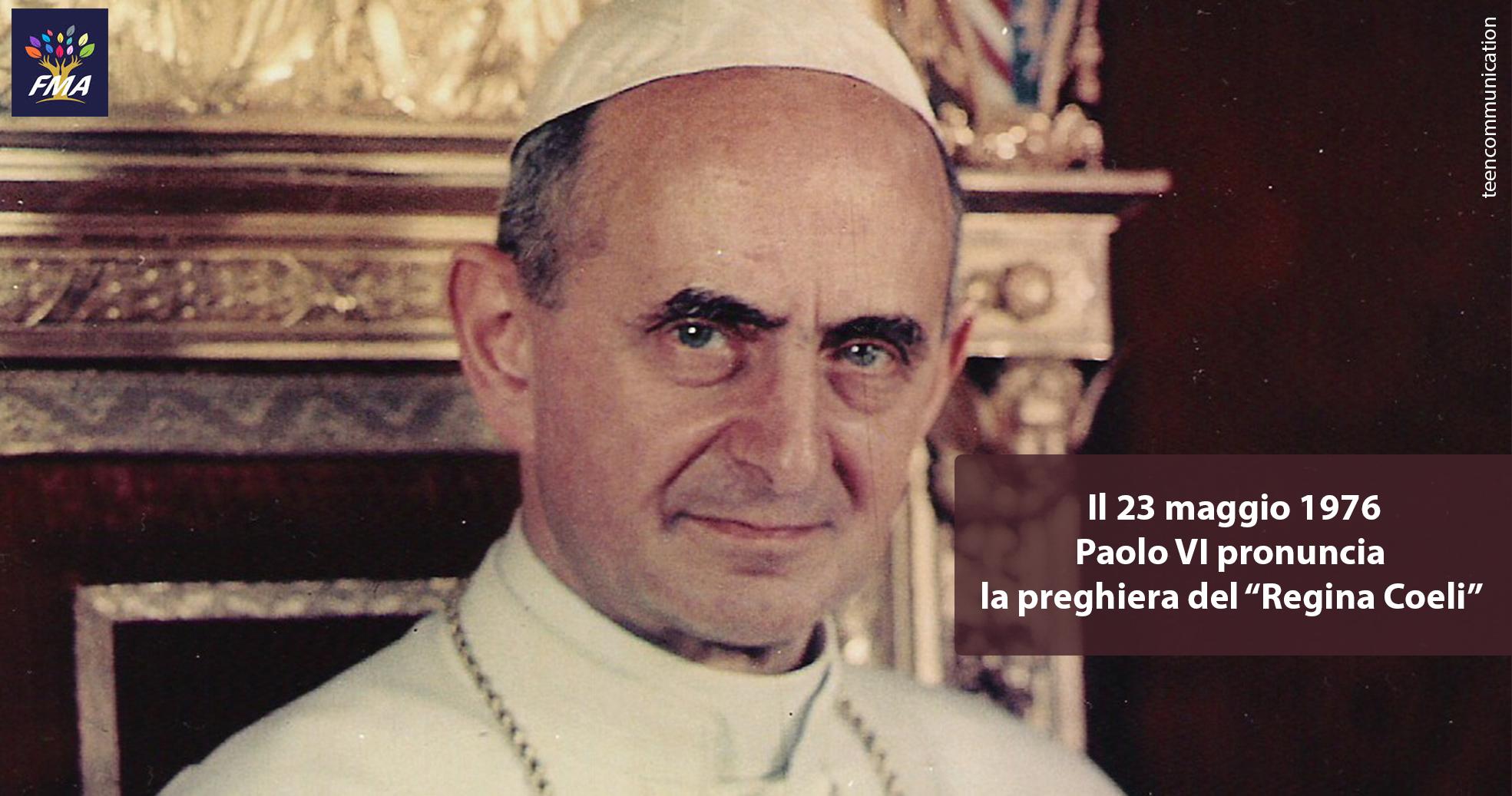 La devozione di Papa Paolo VI per Maria Ausiliatrice