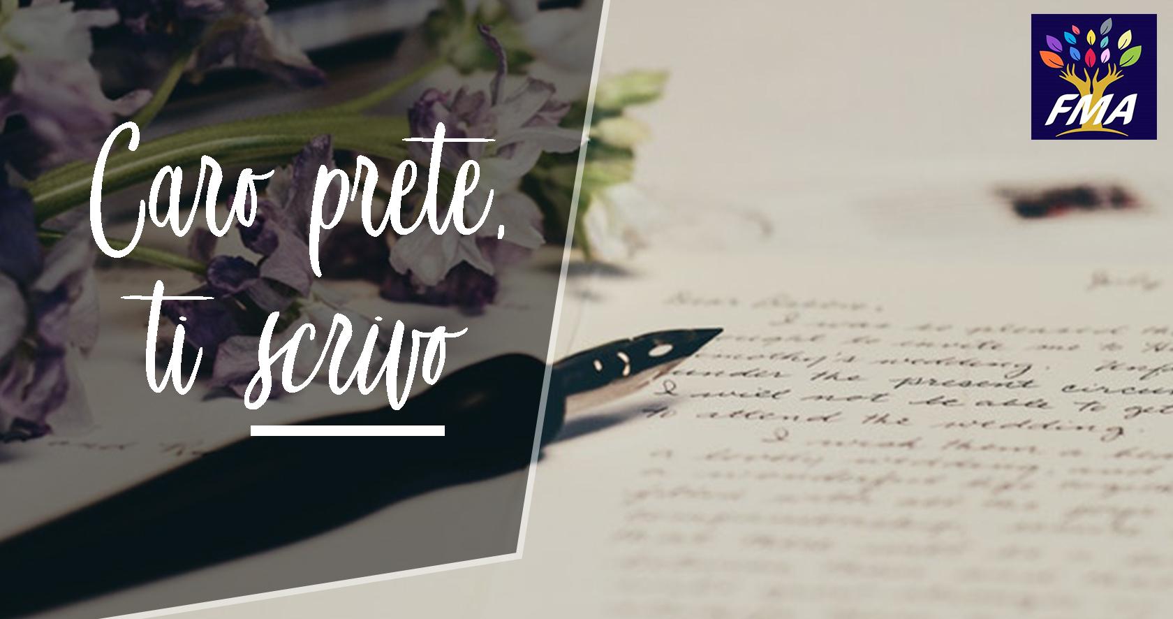 Caro prete ti scrivo