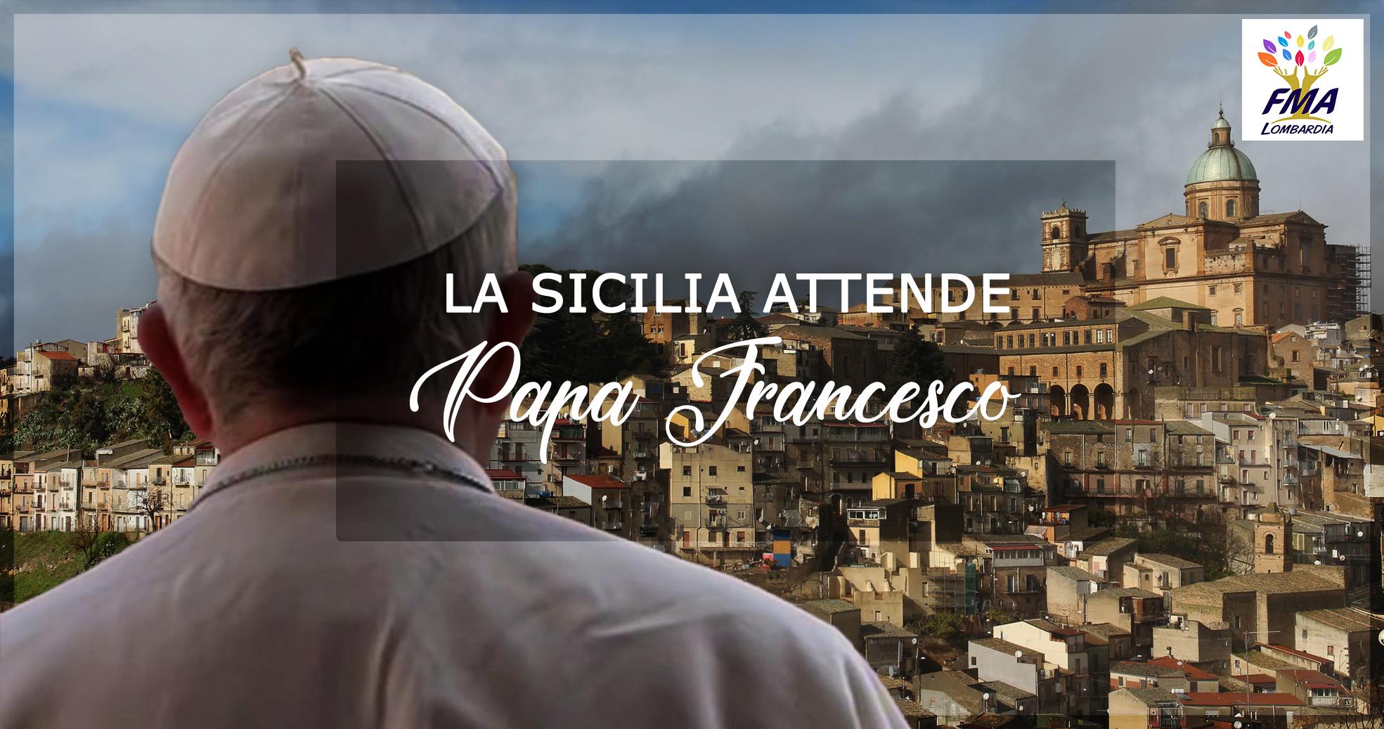 La Sicilia attende Papa Francesco