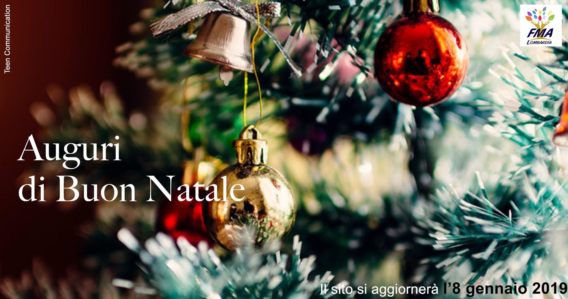 Buon Natale e Buone Feste 2018