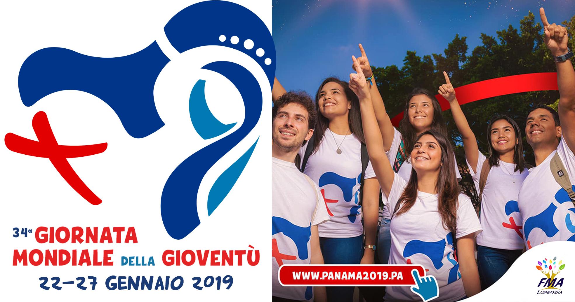 """Si svolge a Panama dal 22 al 27 gennaio 2019 la XXXIV Giornata Mondiale  della Gioventù che ha per tema """"Ecco la serva del Signore  avvenga per me  secondo la ... 6ef32e84da74"""