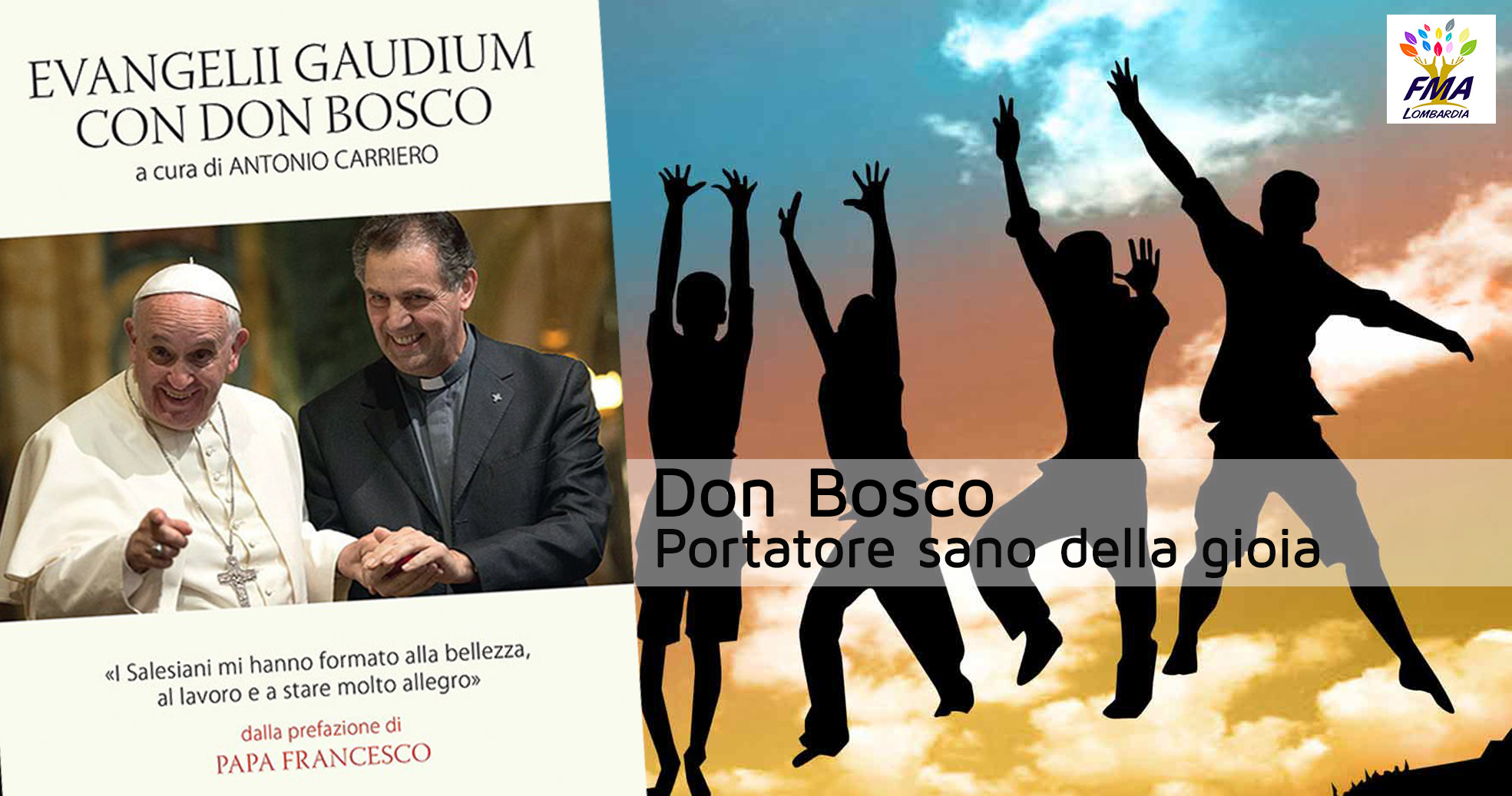 Don Bosco portatore sano della gioia