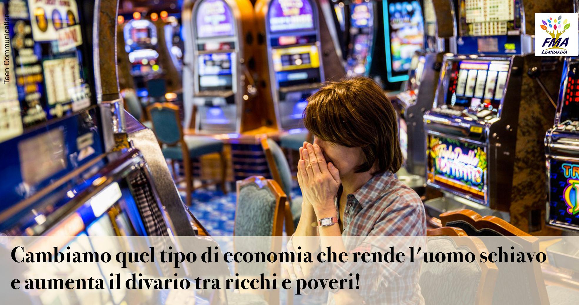 Azzardo: non è un gioco da ragazzi