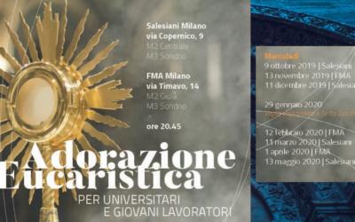 Adorazione Eucaristica per universitari e giovani lavoratori