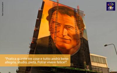 Un murale per Don Bosco