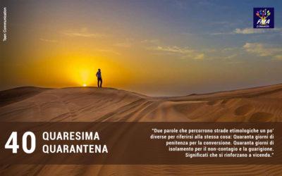 Quaresima/Quarantena