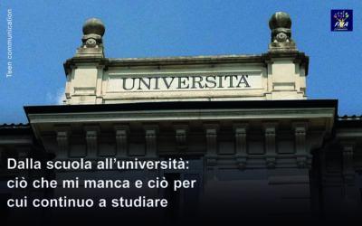 Dalla scuola all'università