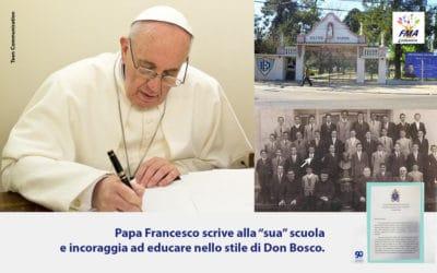 """Il Papa scrive alla """"sua"""" scuola"""