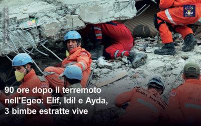La vita 90 ore dopo il terremoto