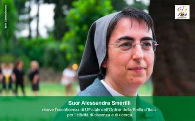 Onorificenza a suor Alessandra Smerilli