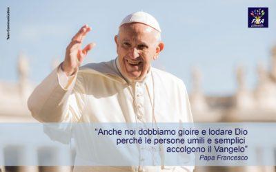 Papa Francesco consiglia la preghiera di lode