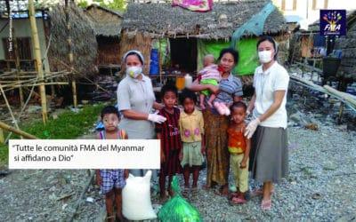 Solidali con il Myanmar