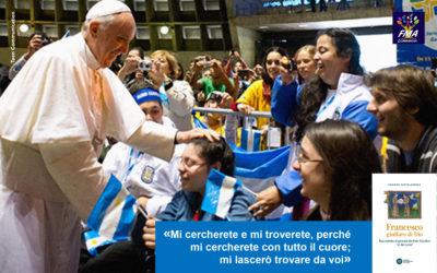 Il Papa ai giovani: Dio ha sete di voi